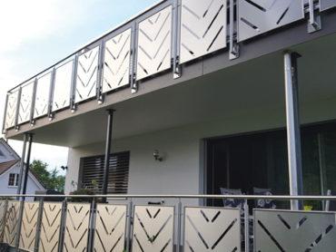 Balkonverkleidungen aus Edelstahl Rostfrei
