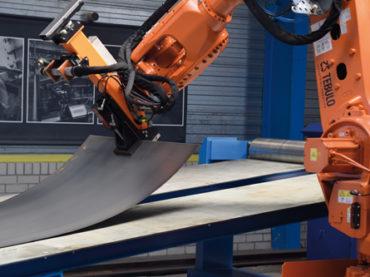 Neue Roboterlösung erhöht Sicherheit im Stahlbereich