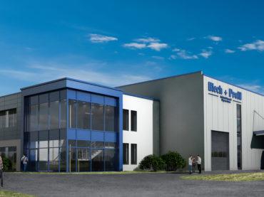 Blech+Profil RL baut neues Vertriebs- und Bearbeitungszentrum