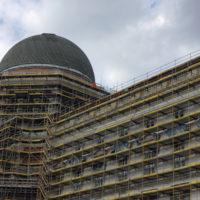 Der letzte Edelstahl für die Kuppel des Berliner Schlosses