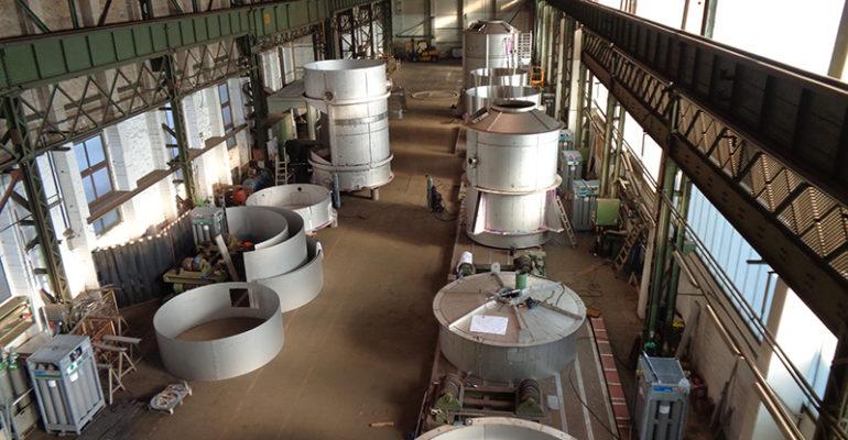 Gothe Edelstahl auf Nachhaltigkeitskurs </br> Gipsproduktion auf hoher See