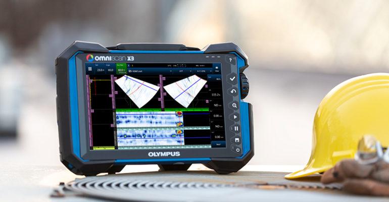 Prüfgerät OmniScan X3: Neuer Standardfür die Phased-Array-Prüfung