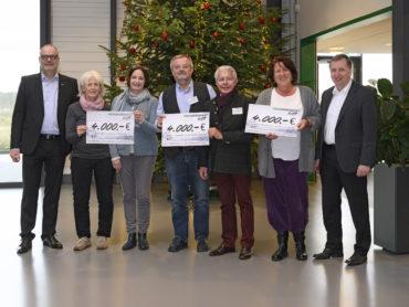 Unterstützung für gemeinnützige Projekte <br/>Nordwest spendet 12.000 Euro